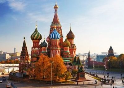 RUSIA – de Moscú a San Petersburgo