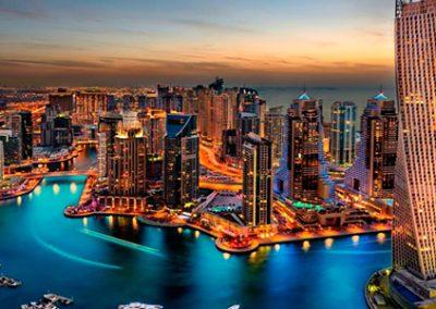 EMIRATOS ÁRABES – Dubai, Abu Dhabi