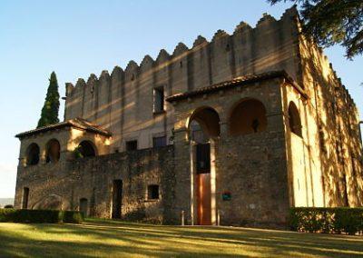 EL CASTELL DE MONTESQUIU I MUSEU DE LA TORNERIA, 10 de Abril