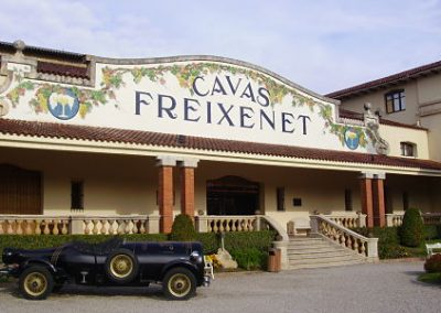 CAVAS FREIXENET Y CHOCOLATES SIMON COLL CON ALMUERZO DE CASTAÑADA, 29 de Septiembre
