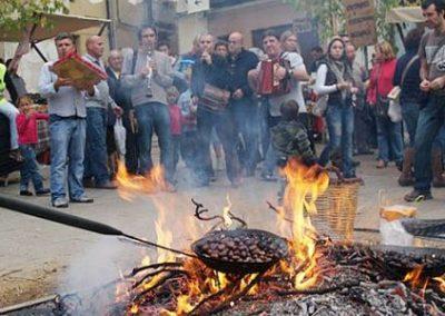 FIRA DE LA CASTAÑA DE VILADRAU Y VISITA AL ESPAI MONTSENY CON CASTAÑADA, 28 de Octubre